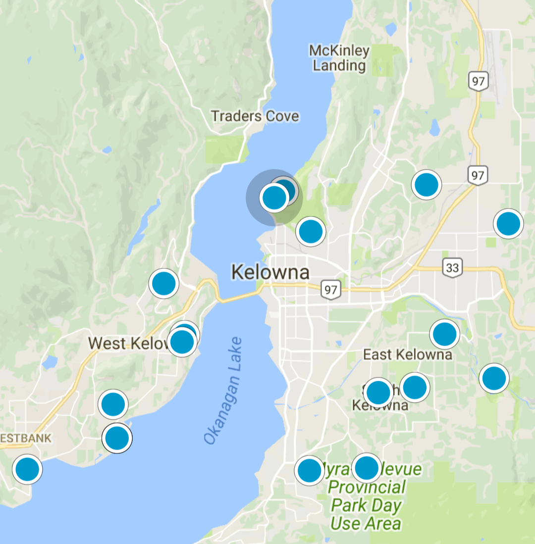 Kelowna Property Listings Map Search