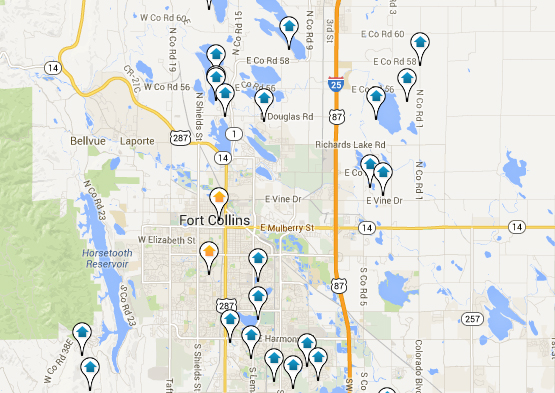 Fort Collins Home Search