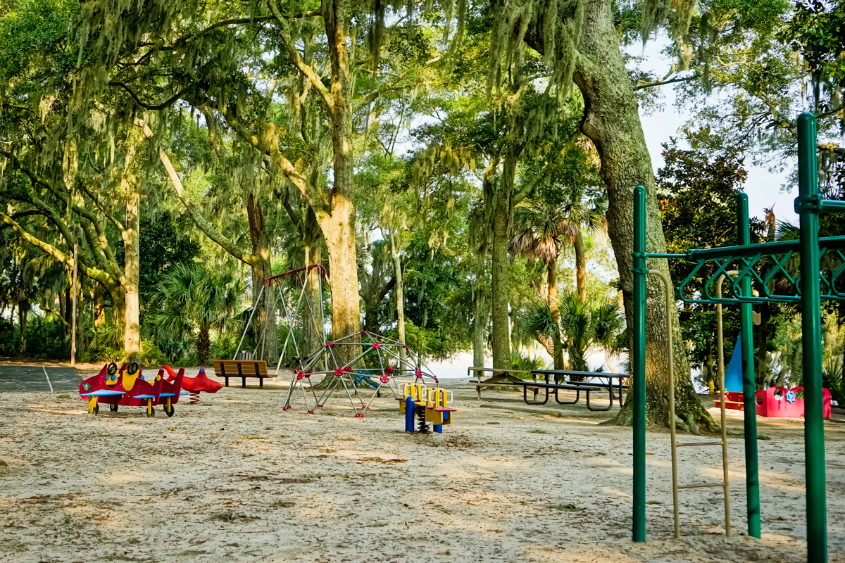 Dolphin Head Playground on Hilton Head