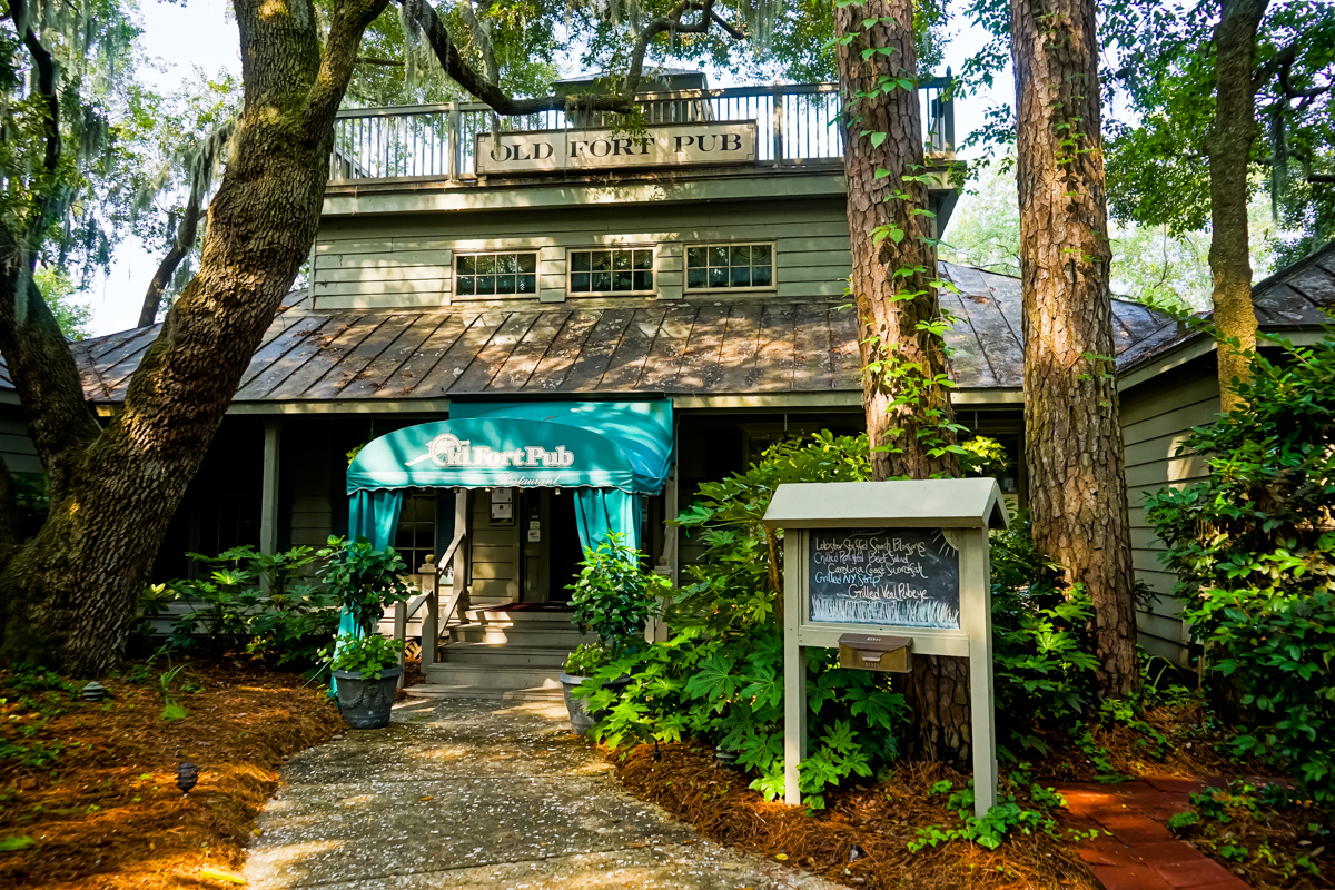 Old Fort Pub, located within Hilton Head Plantation