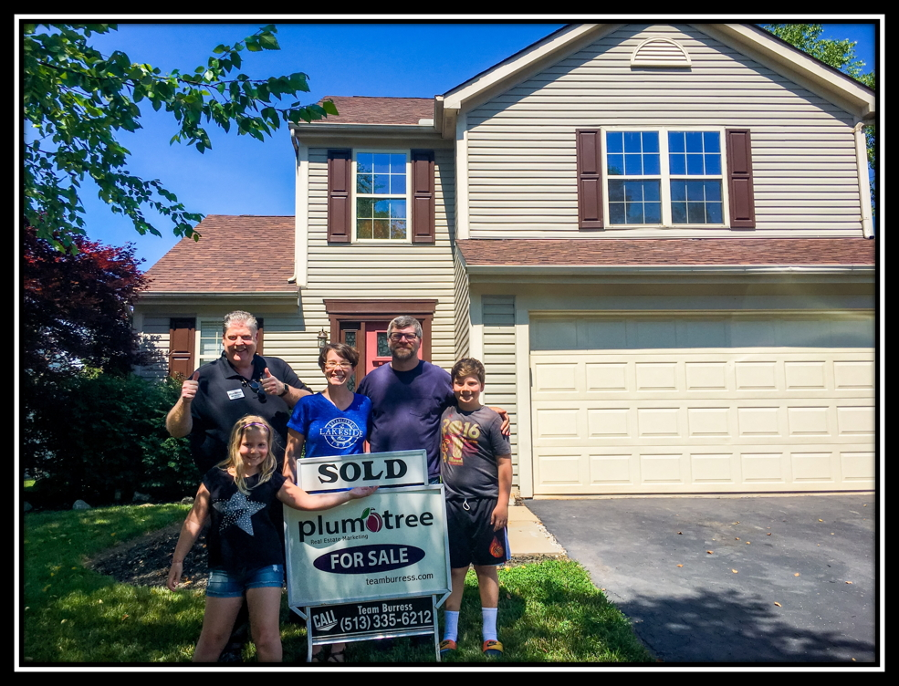 Another happy home buyer by Team Burress Plum Tree Realty
