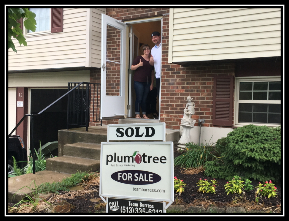 Team Burress Plum Tree Realty has more satisfied home buyers. Phil and Sarah Wiehe