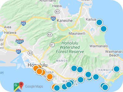 O'ahu Real Estate Map Search
