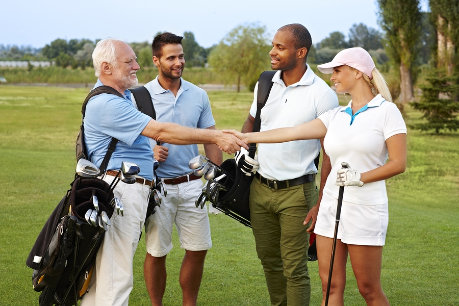 Go golfing on Johnston property.
