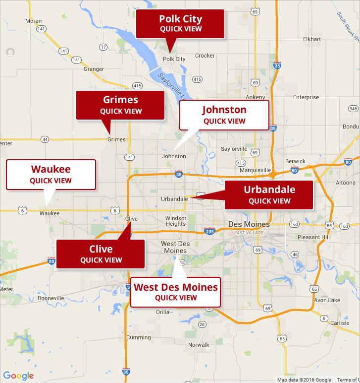 Des Moines Western Suburb Homes For Sale