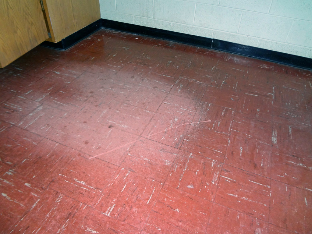 outdated linoleum floor - The Turwitt Team
