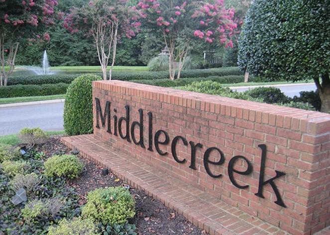 Middle Creek Entrance