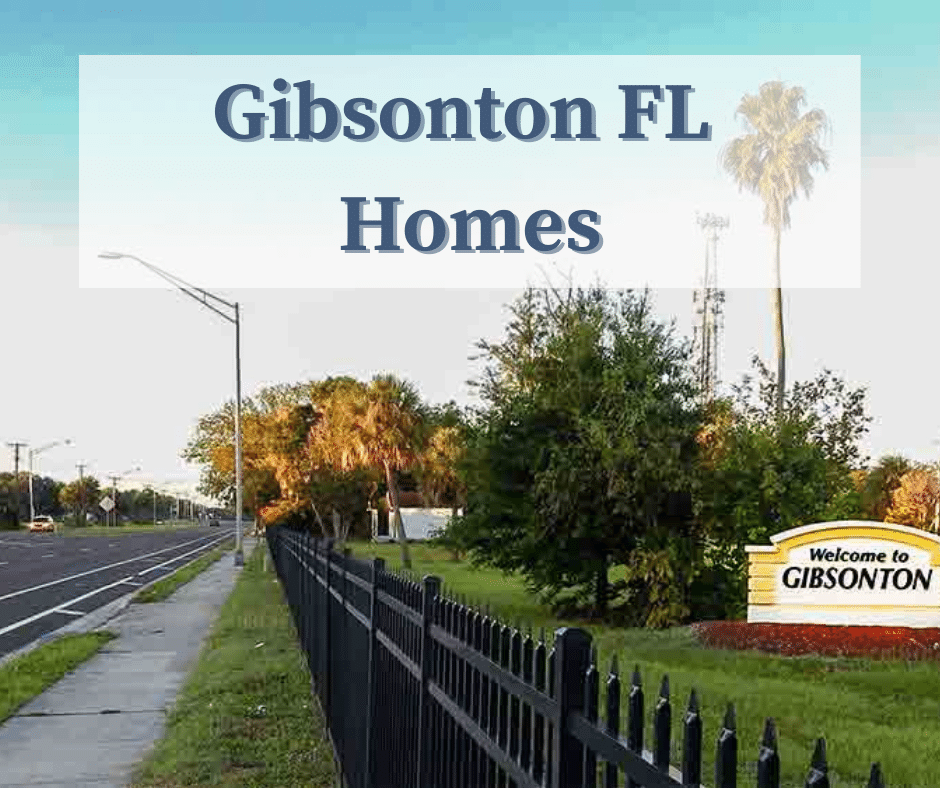 Gibsonton FL Homes