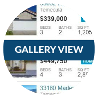 TEMECULA HOMES FOR SALE | GALLERY VIEW