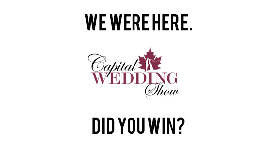 Capital Wedding Show Ottawa Winners