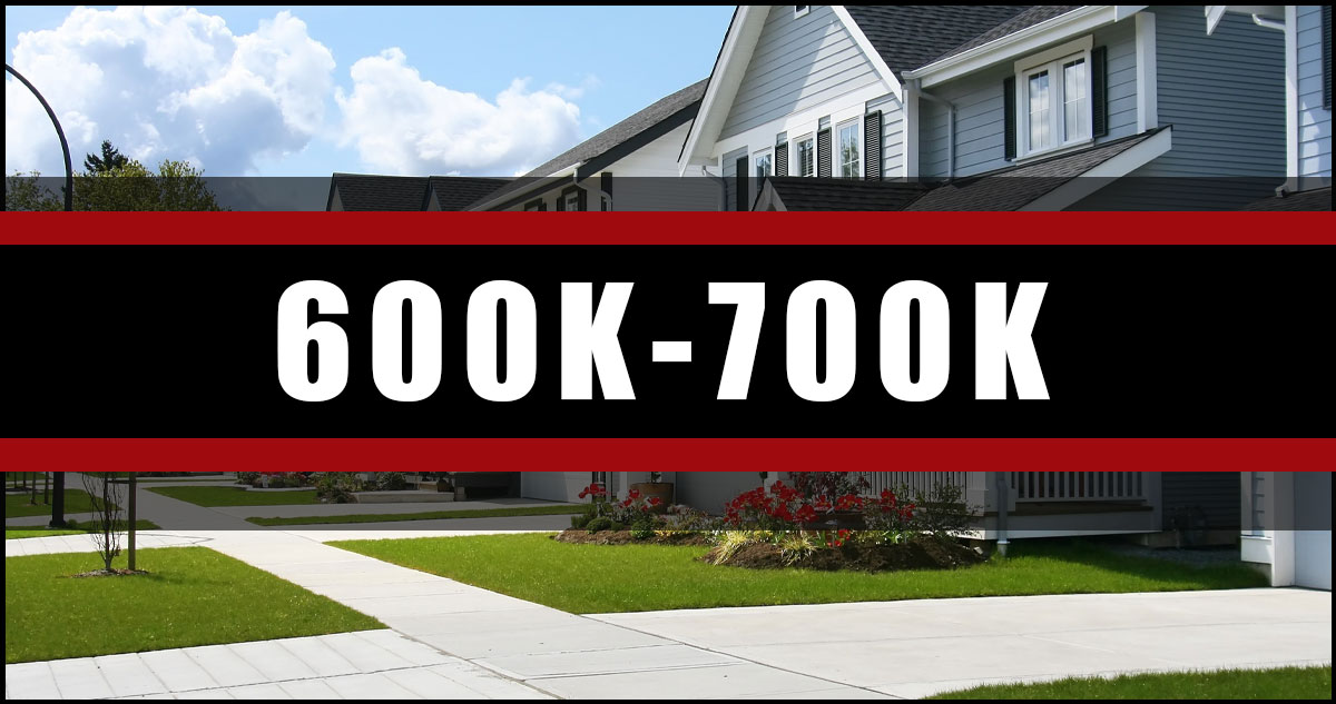 Homes In Ottawa 600K-700K
