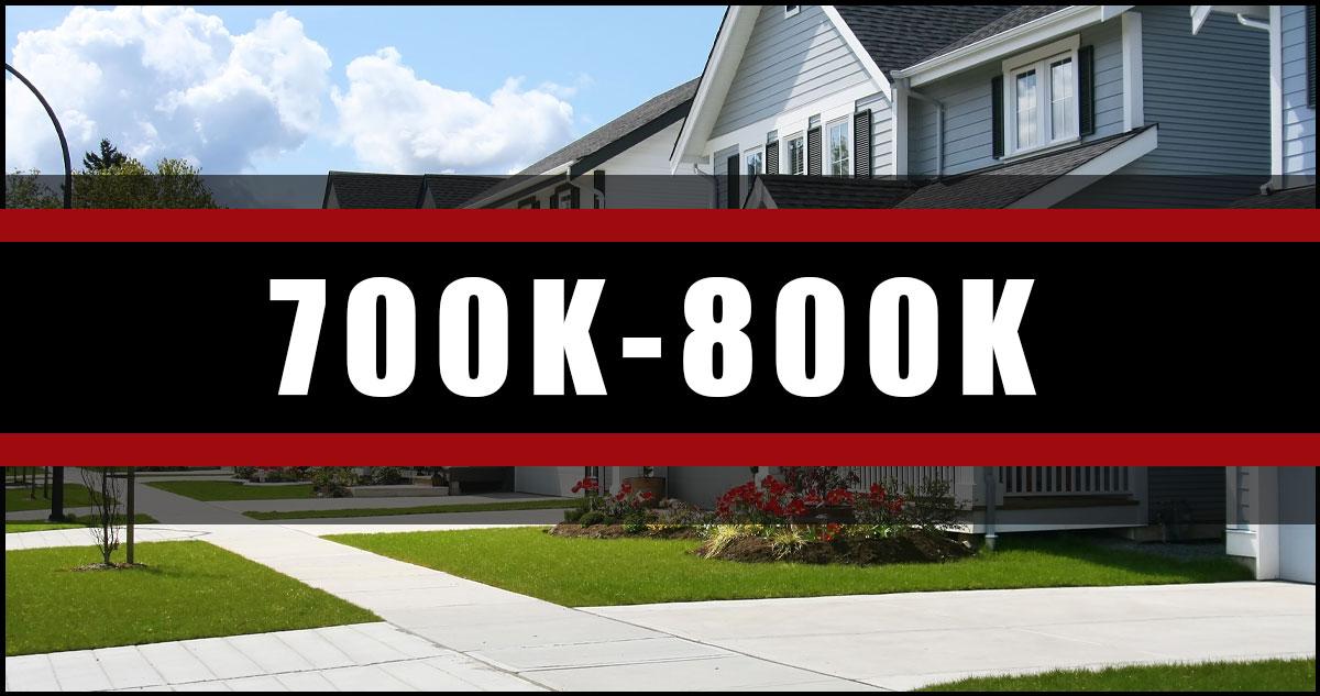 Homes In Ottawa 700K-800K