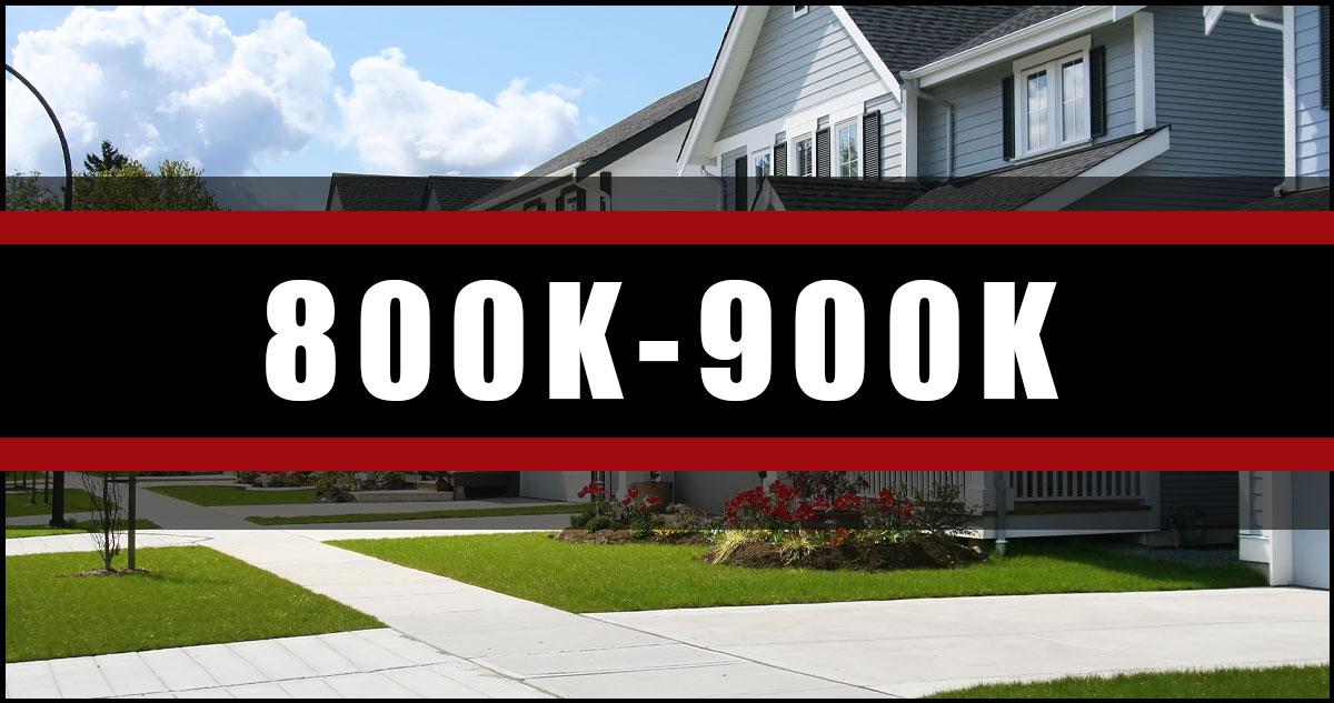 Homes In Ottawa 800K-900K