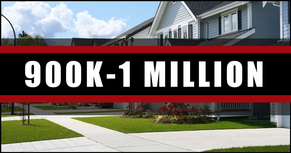 Homes In Ottawa 900K-1 Million