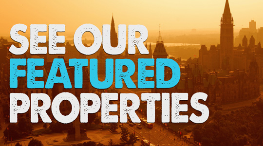 Ottawa Real Estate Featured Properties