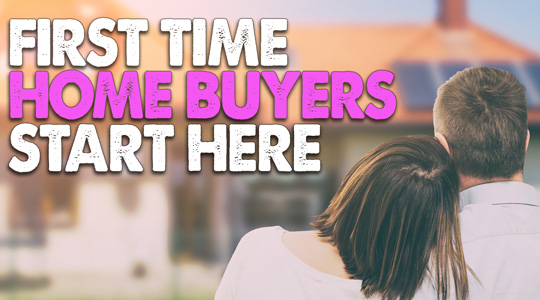 First Time Home Buyers Click Here
