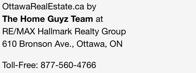 Ottawa Real Estate Contact Info