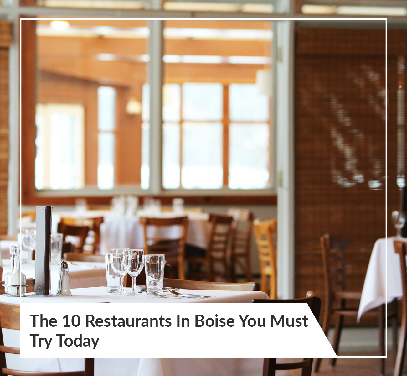 Boise Restaurants You Need To Try
