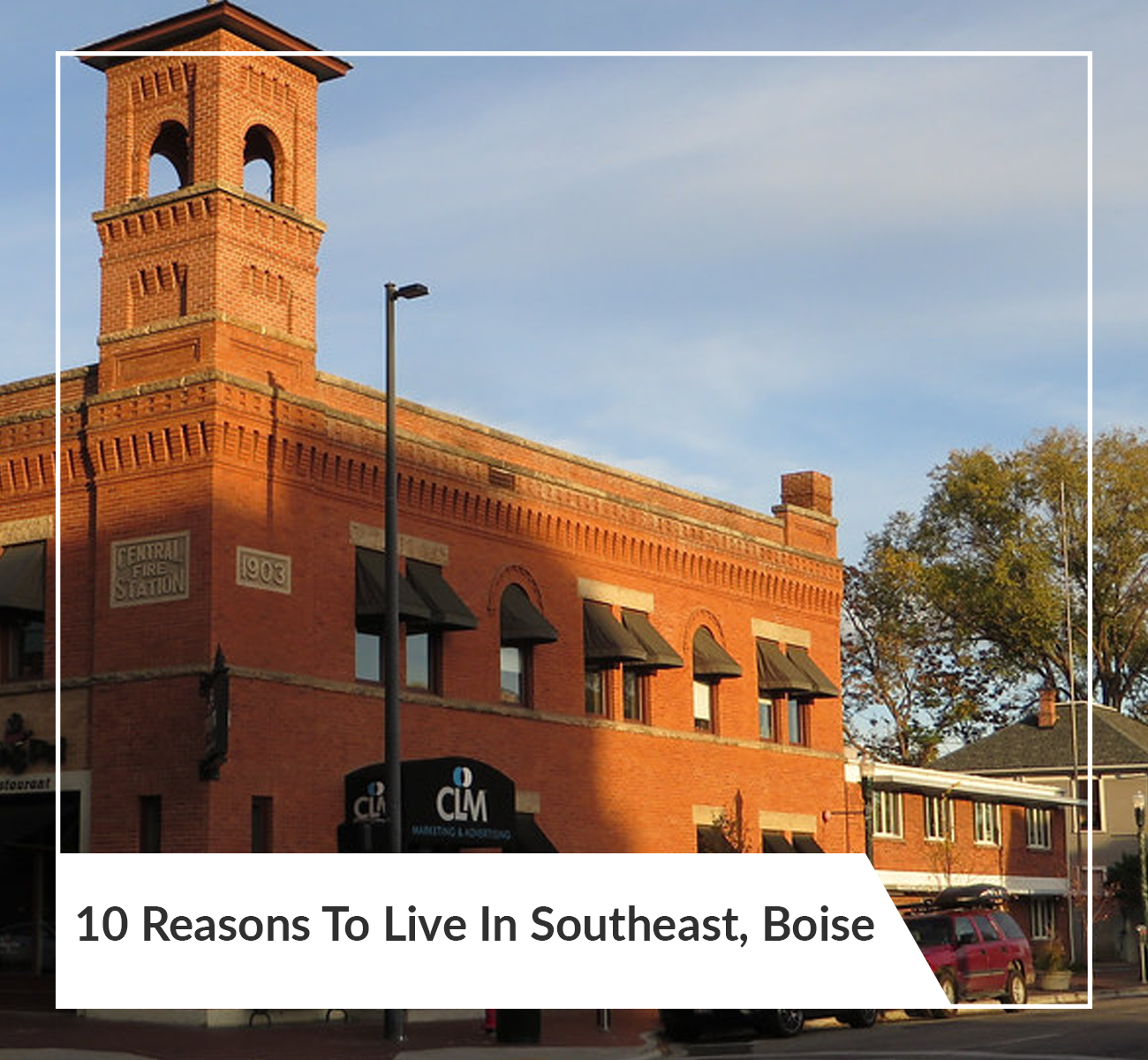 Living in Southeast Boise