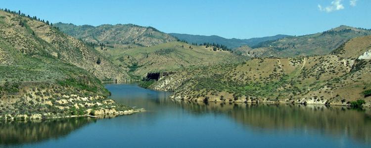 Lucky Peak Idaho