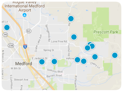 Medford Real Estate Map Search