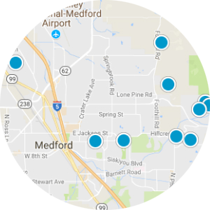 Shady Cove Real Estate Map Search