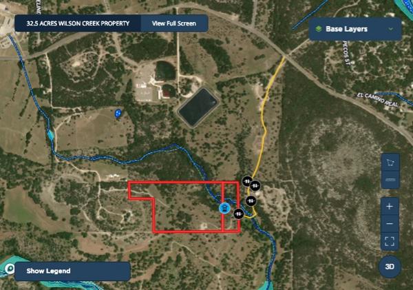 32.5 Acres on Wilson Creek | Wimberley Texas | Hays County