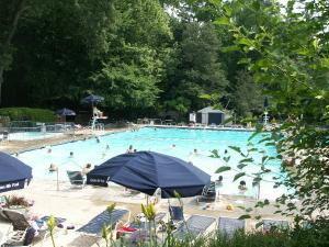 The Garden Hills community pool