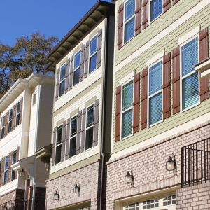 Picture of a townhomes in Kirkwood Atlanta links to Intown Condos for Sale
