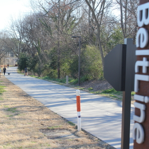 Photo of the beltline trail as it passes through Reynoldstown
