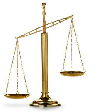 Appraisal scales of justice picture