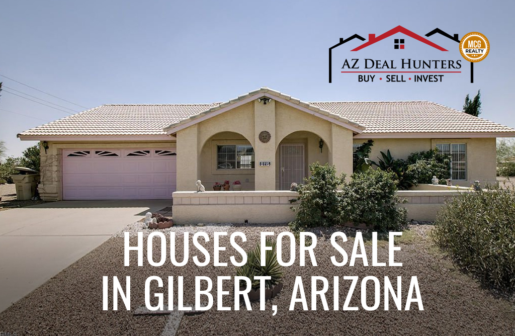 Houses for sale in Gilbert, Arizona