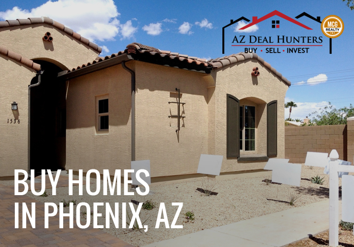 Buy homes in Phoenix, AZ