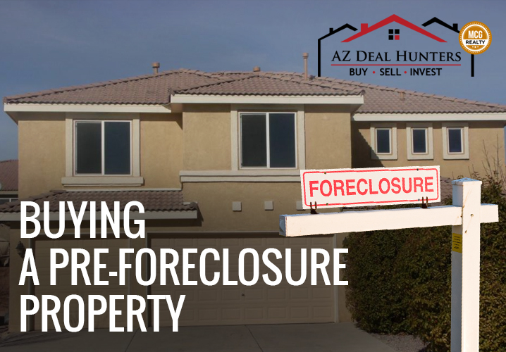Buying a Pre-Foreclosure Property