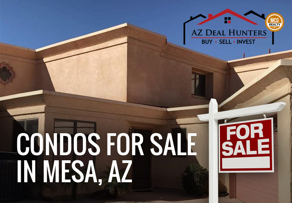 condos for sale in Mesa, AZ