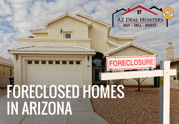 Foreclosed homes in Arizona