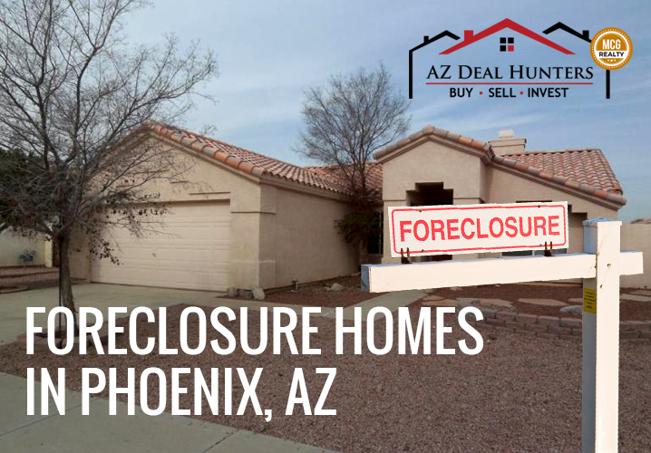 Foreclosure homes in Phoenix, AZ