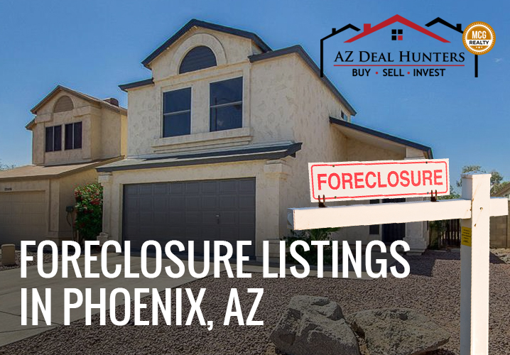 Foreclosure listings in Phoenix, AZ