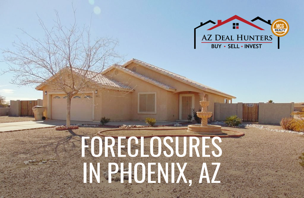 foreclosures in Phoenix, AZ
