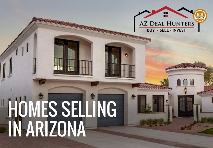 Homes selling in Arizona