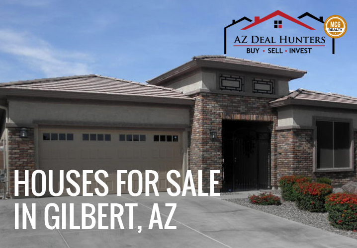 houses for sale in Gilbert Arizona
