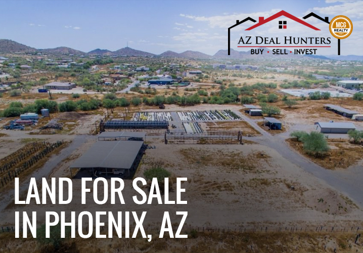 land for sale in Phoenix Arizona