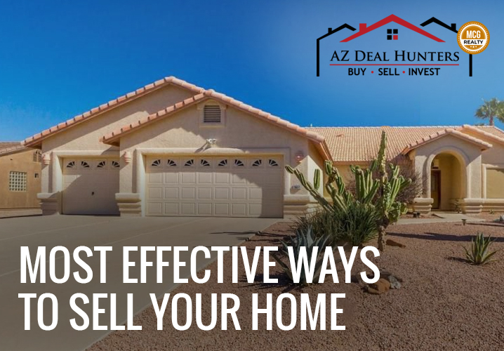 Most effective ways to sell your home