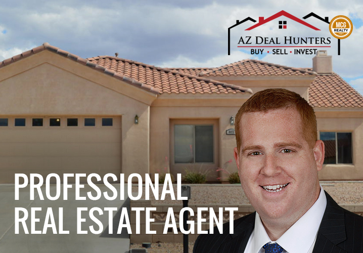 Professional real estate agent