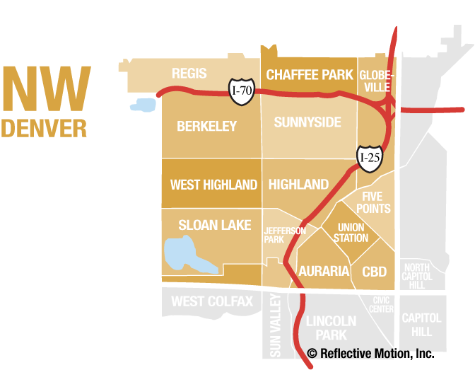 Northwest Denver Communities