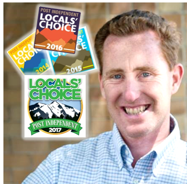 Post Independent Local's Choice Best Realtor 4 Years in a Row