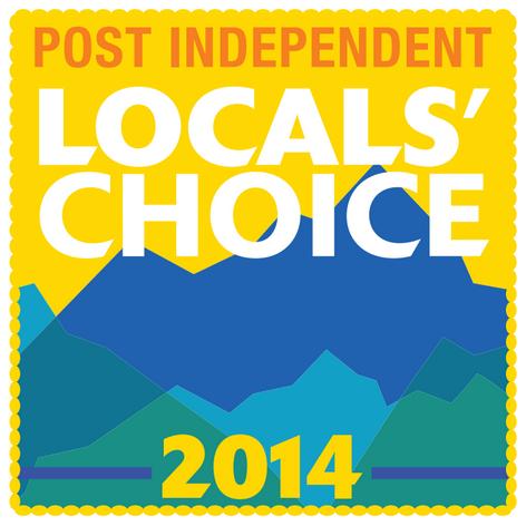 Glenwood Springs Locals Choice Award 2014