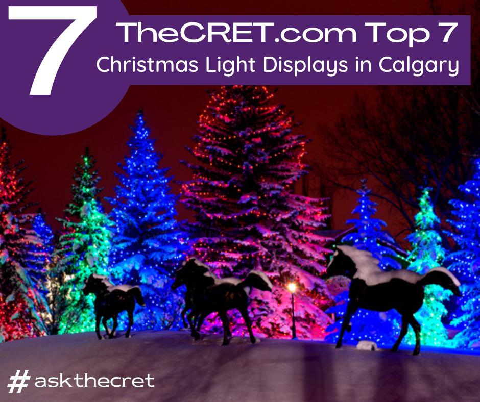 Christmas and Holiday Lights in Calgary 2018 - 2019