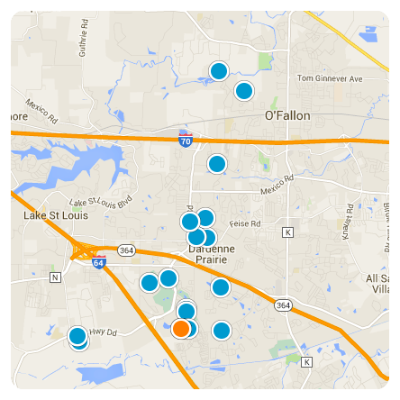 OFallen Map Search
