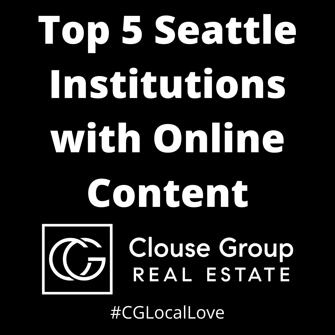 top 5 seattle institutions with online content